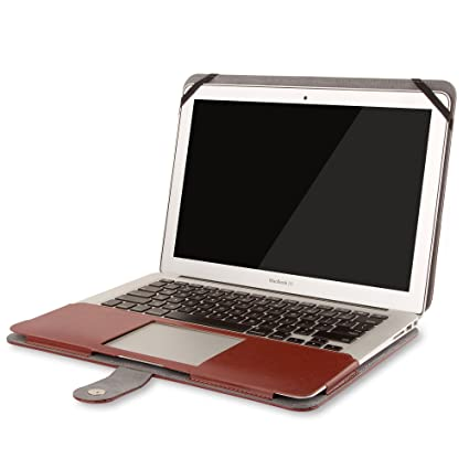 Mosiso Leather Macbook Air case