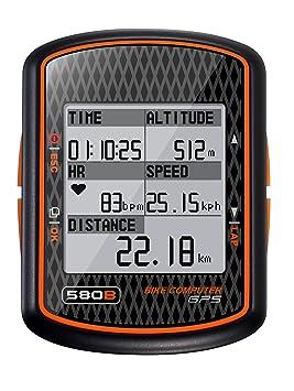 Ordinateur de vélo GPS avec Mode de pratique - GlobalSat GB-580
