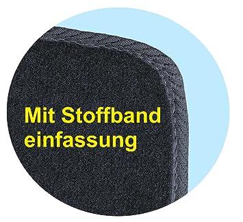 SsangYong Rexton 100/% passform Fussmatten Autoteppiche Schwarz Silber Rot Blau