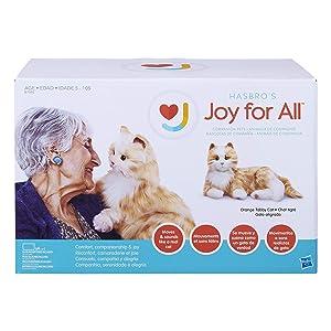 Ageless Innovation | Joy For All Companion Pets | Orange Tabby Cat | Lifelike & Realistic (Color: Orange Tabby)