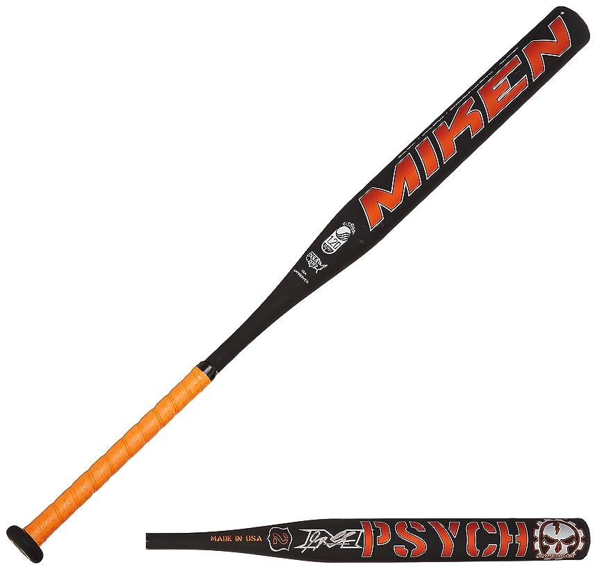 Miken Psycho Supermax USSSA Slowpitch Softball Bat (1-Piece) , 26oz