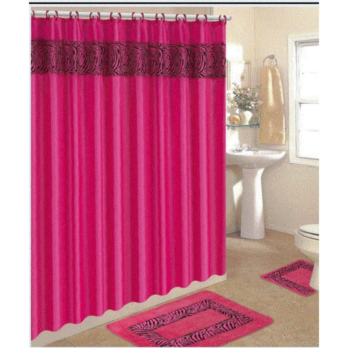 Hot pink curtains - Hot Pink Curtains 14