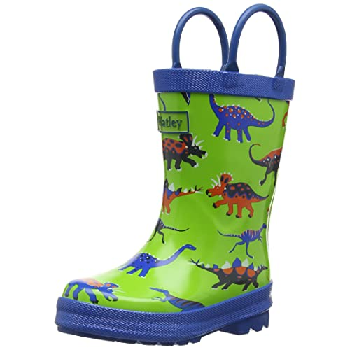 Hatley Big Boys Rainboots -Dinos