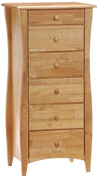 Natural Finish Lingerie Chest w Modern Legs