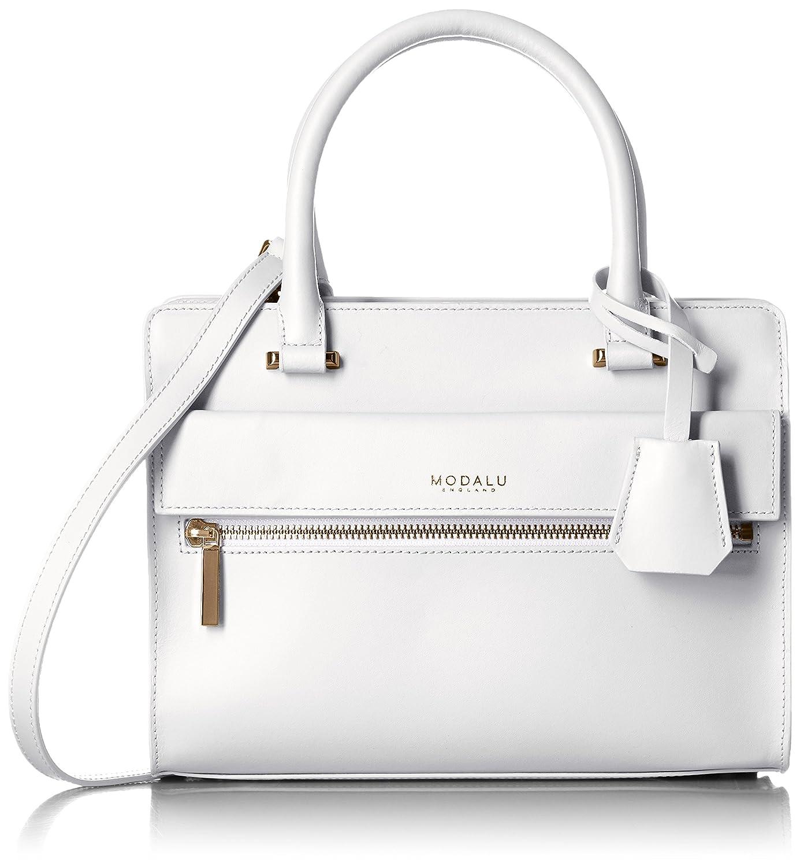 Amazon | [モダル] MODALU ERIN MINI TOTE MH4789 White (White) | ハンドバッグ