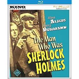 The Man Who Was Sherlock Holmes [Blu-ray]