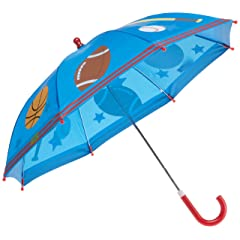 Stephen Joseph Boys 2-7 Sports Rain Umbrella