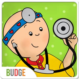 Caillou Check Up - Doctor's Visit Game for Kids from Budge Studios