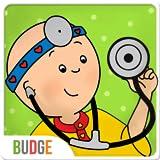 Caillou geht zum Arzt - Arztspiel