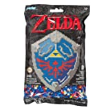Perler 80-11125 Nintendo's The Legend of Zelda Hylian Shield Pattern and Fuse Bead Kit, 10.75'' x 13'', 3503pc, Multicolor (Color: Multicolor)