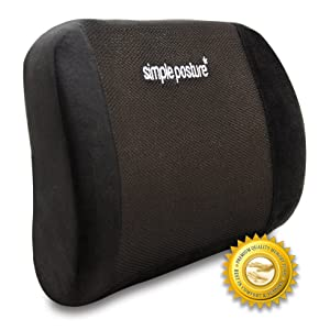 BackGuard™ – Premium Lower Back Pain Cushion by SimplePosture