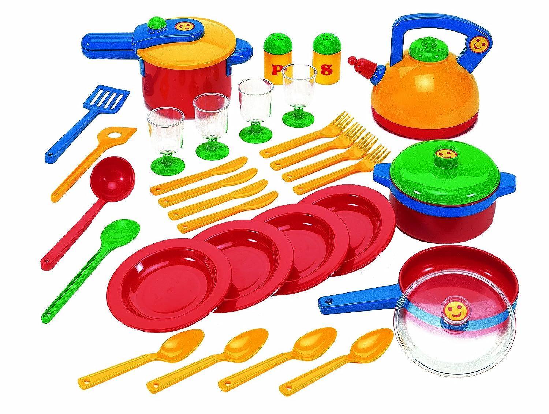 Kinder kochgeschirr kinderk che kaufen for Juguetes de cocina