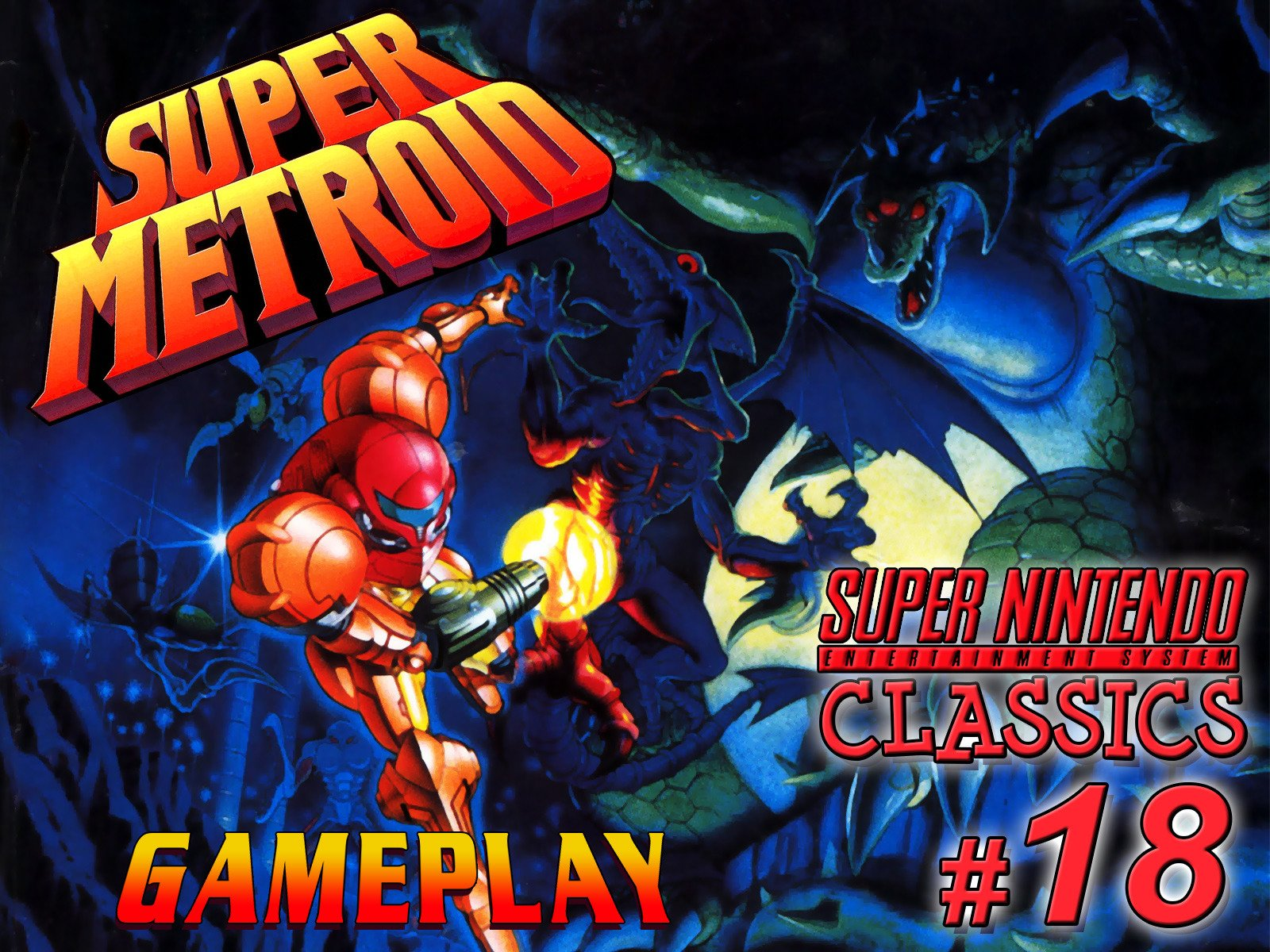 Clip: Super Metroid Gameplay (SNES Classics 18) on Amazon Prime Instant Video UK