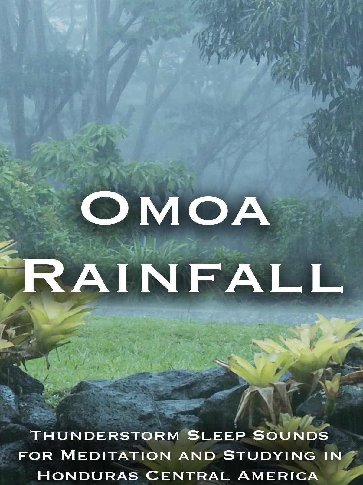 Omoa Rainfall Thunderstorm Sleep Sounds for Mediation and Studying in Honduras Central America