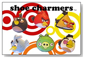 Angry Birds and Pig Jibbitz Croc Shoe Charms