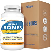 Natrogix Prime Bones Calcium/Magnesium Supplement 240-Count