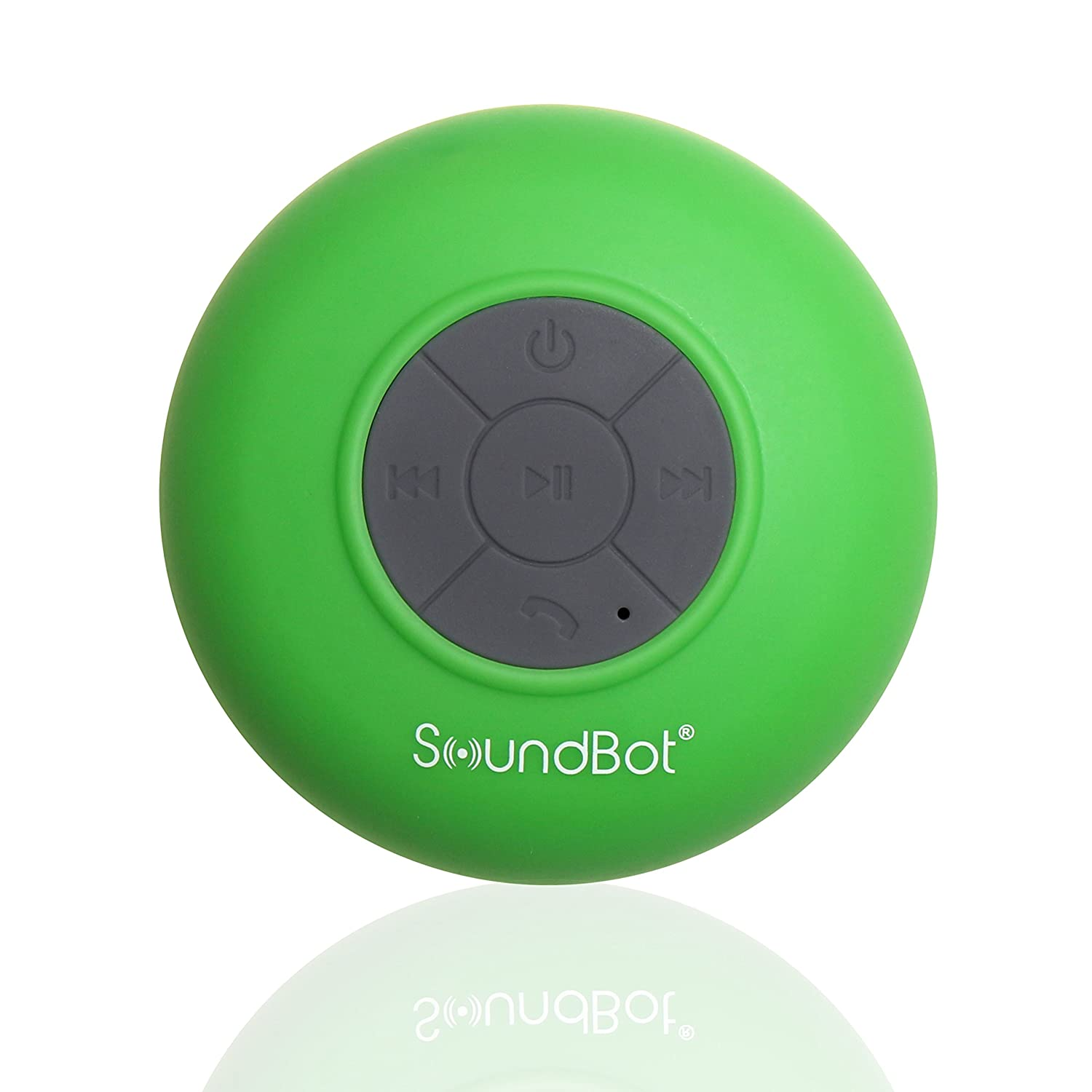 SoundBot SB510 HD Water Proof Bluetooth 3.0 Speaker, Mini Water Resistant Wireless Shower Speaker, Handsfree Portable Speakerphone with Built-in Mic, 6hrs of playtime ..
