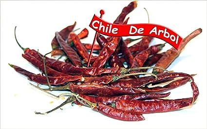 Chiles de Arbol Dried Dried Chile de Arbol Smoky Hot