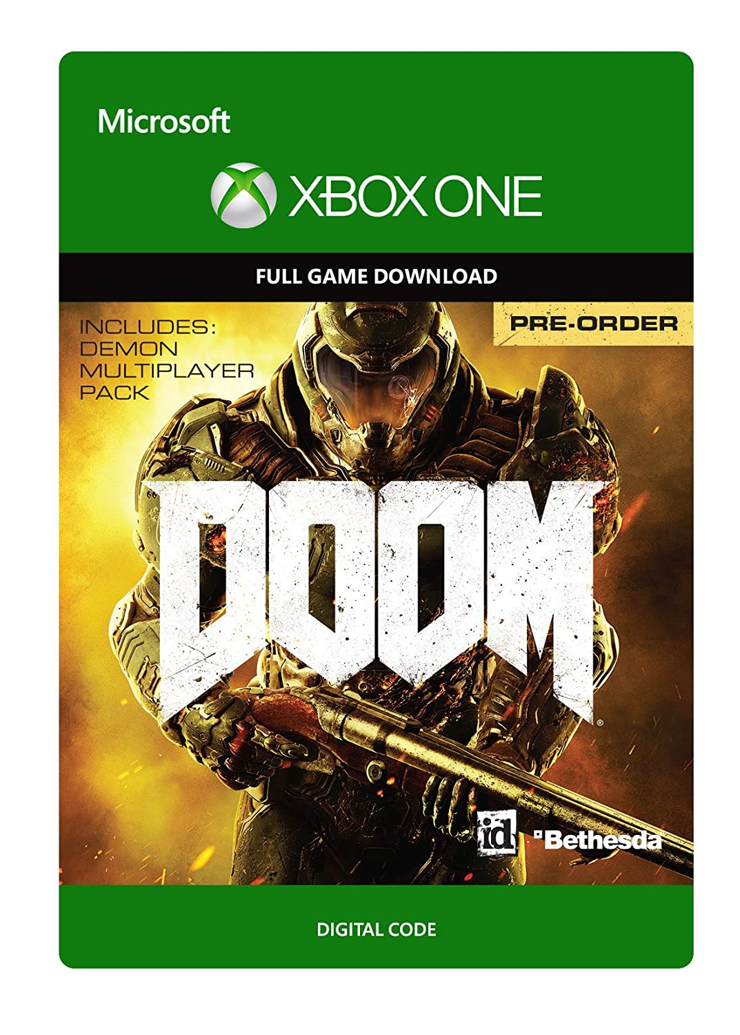 Doom - Pre-Load - Xbox One Digital Code