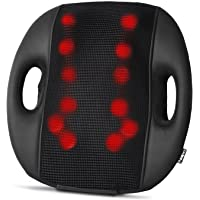 Naipo Back Massage Cushion Back Massager w/3D Shiatsu Kneading