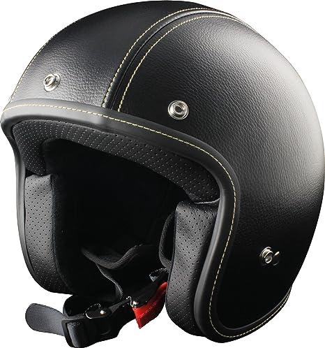 Origine autres casques primo casque de cuir noir