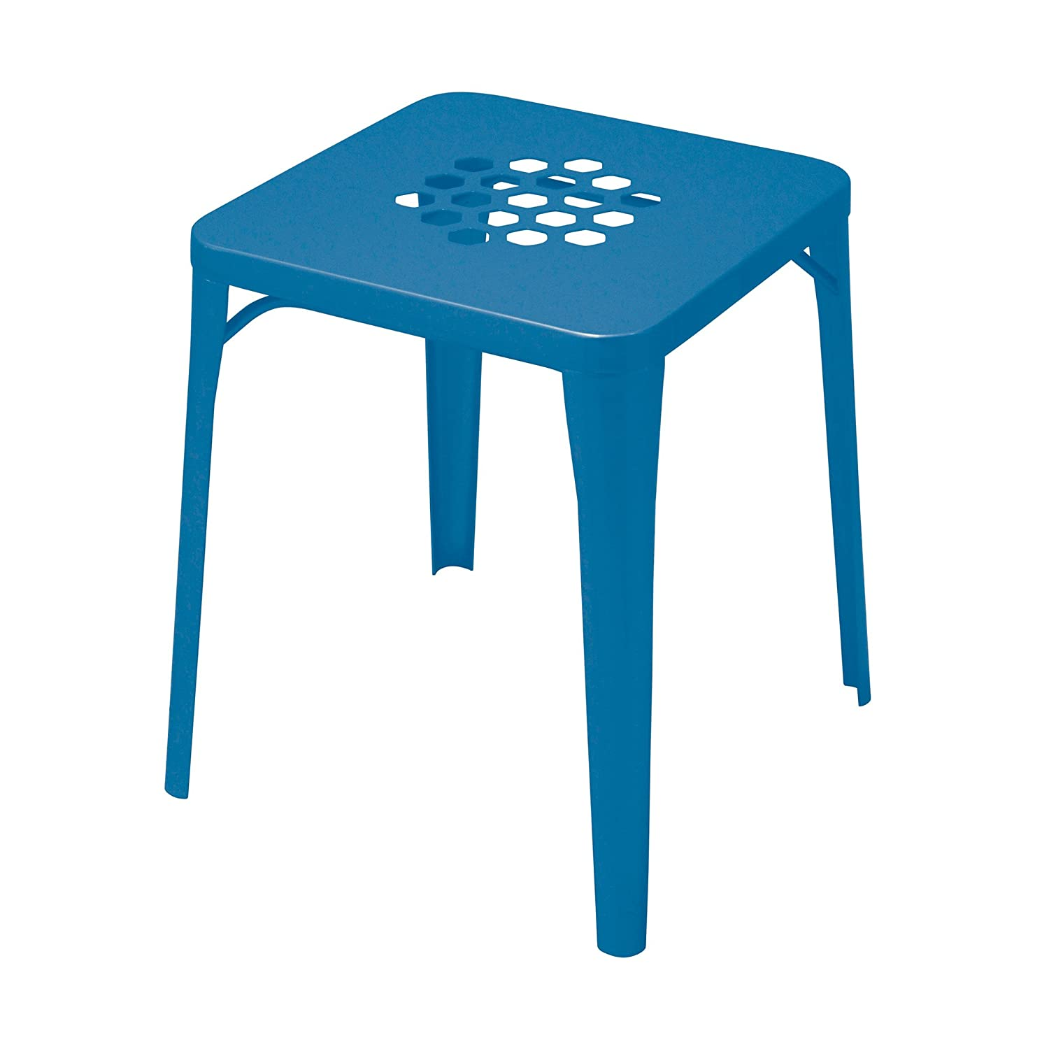 Pattern Hocker blau
