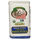 Hodgson Mill Organic Naturally White Flour, Unbleached All-Purpose, 2-Pounds (Pack of 6) (Tamaño: 2 Pound (Pack of 6))