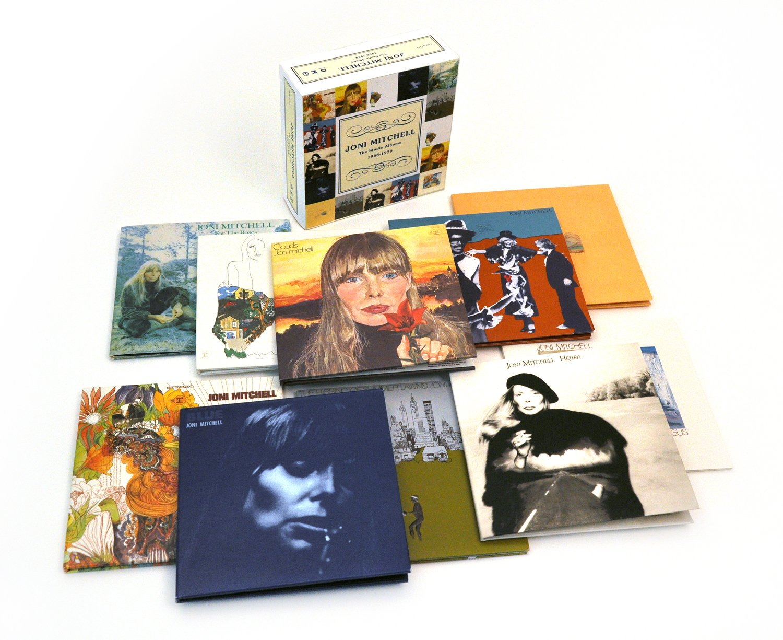 Joni Mitchell – Studio Albums 1968-1979 (10CD Box Set) (2012) [FLAC]