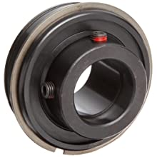 "Timken ER18 Wide Inner Ring Ball Bearing, With Snap Ring, Double Sealed, Inch, 1-1/8"" ID, 62 mm OD, 1-35/64"" Width, Max RPM, 2530 lbs Static Load Capacity, 4850 lbs Dynamic Load Capacity"