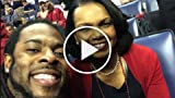 Richard Sherman & Condoleezza Rice Take a Selfie at...