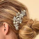 Topwedding Remedios Starfish Wedding Comb Prom Bridal Bridesmaid Crystal Hairpiece Accessory
