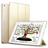 ESR iPad 9.7 2018 / 2017 Case, Lightweight Smart Case Trifold Stand with Auto Sleep/Wake Function, Microfiber Lining, Hard Back Cover for the Apple iPad 9.7-inch,Champagne Gold