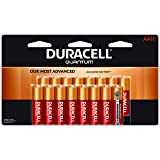 Duracell Quantum AA Alkaline Batteries - Long Lasting, All-Purpose Double A battery for Household and Business - 16 count (Color: Quantum, Tamaño: AA)