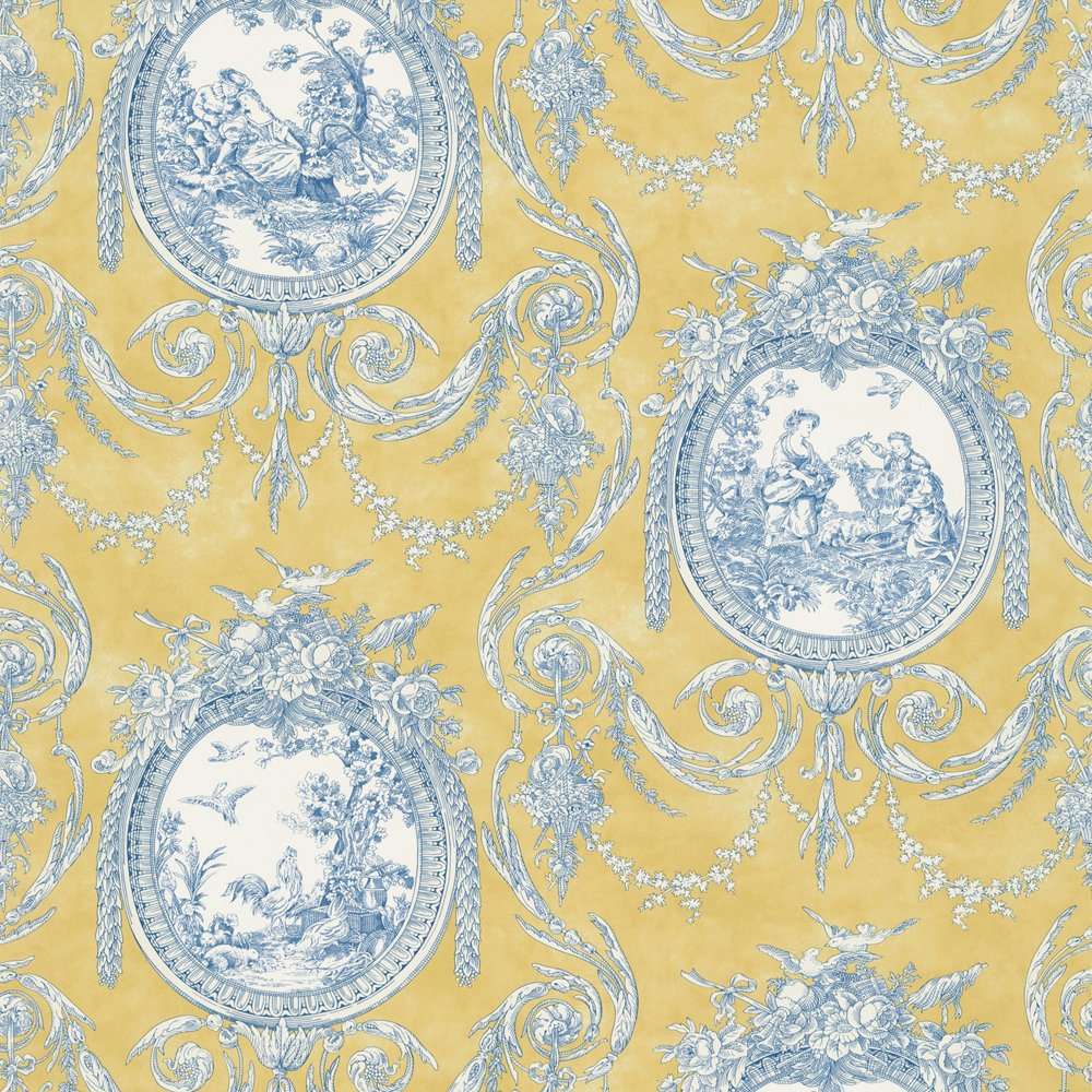 Wallpaper waverly toile immagini for Waverly wallpaper