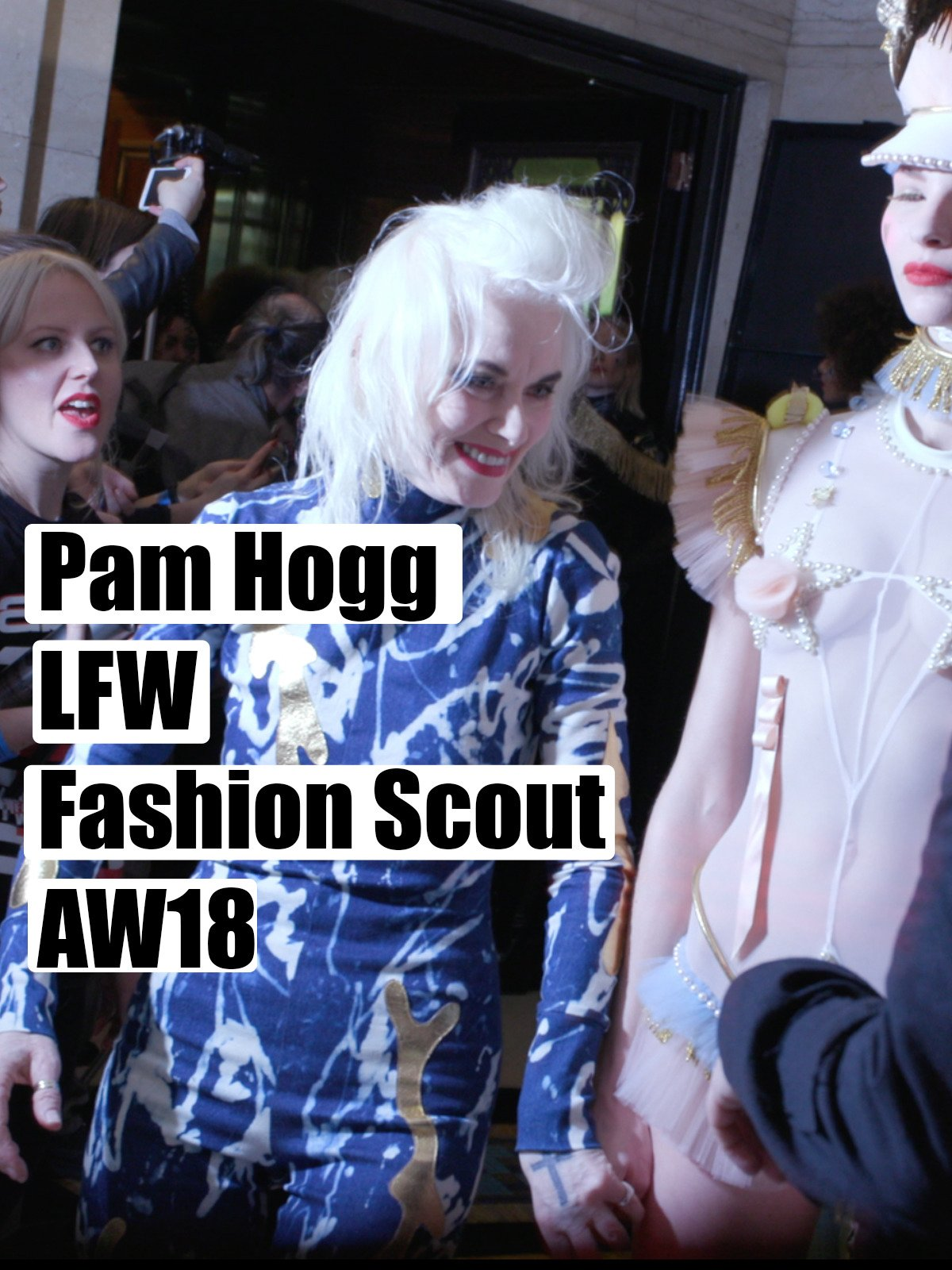Pam Hogg London Fashion Week Fashion Scout AW 18