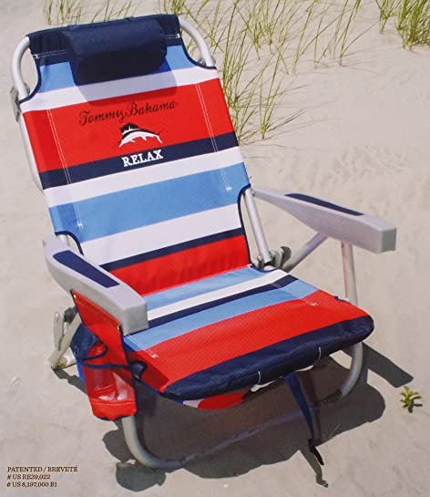 Tommy Bahama 2015 Backpack Cooler Chair With Storage Pouch