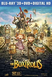 THE BOXTROLLS on Blu-ray, DVD, and Digital