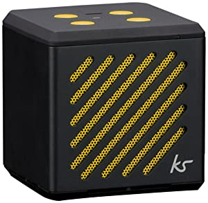 KitSound Tilt Mini Bluetooth Speaker with Built In Microphone Compatible with Apple, Android and Windows Smartphones/Tablets   Blackreview and more information