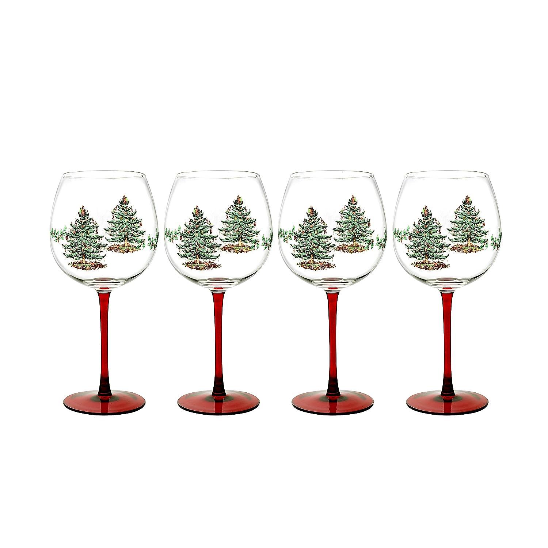 Christmas tree wine glasses christmas wikii for Holiday stemware