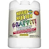 Krud Kutter GR05 Clear Graffiti Remover with Sweet Odor, 5 Gallon