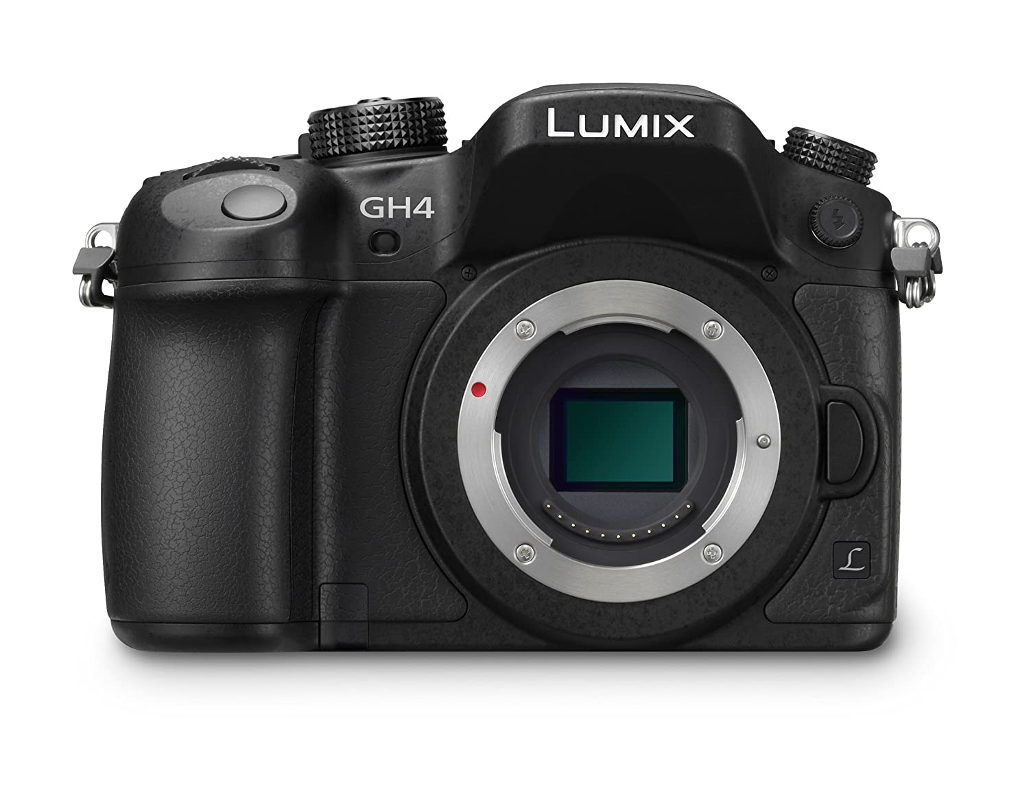 Panasonic LUMIX DMC-GH4KBODY DSLM Mirrorless 4K Cinematic Camera Body Only (Black)