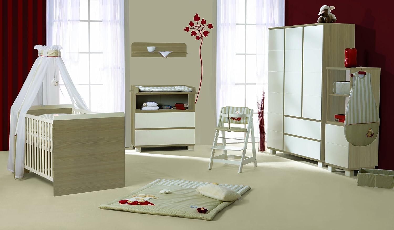 roba 44101-1 Babyzimmer Genova 5-teilig mit 3-türigen Schrank