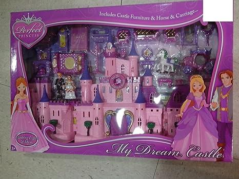 Nouveau et exclusif Princesse Château de beauté avec musique et accessoires
