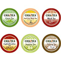 36-Count Cha4TEA Keurig K-Cup Tea Variety Flavor Sampler Pack + 36-Count Cha4TEA Keurig K-Cup Green Tea