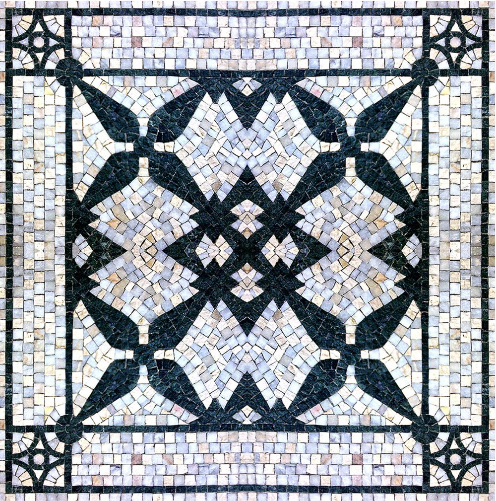 The White Carpet Marble Mosaic Tiles Wall Bath Home Decor Medallion Floor Art (60