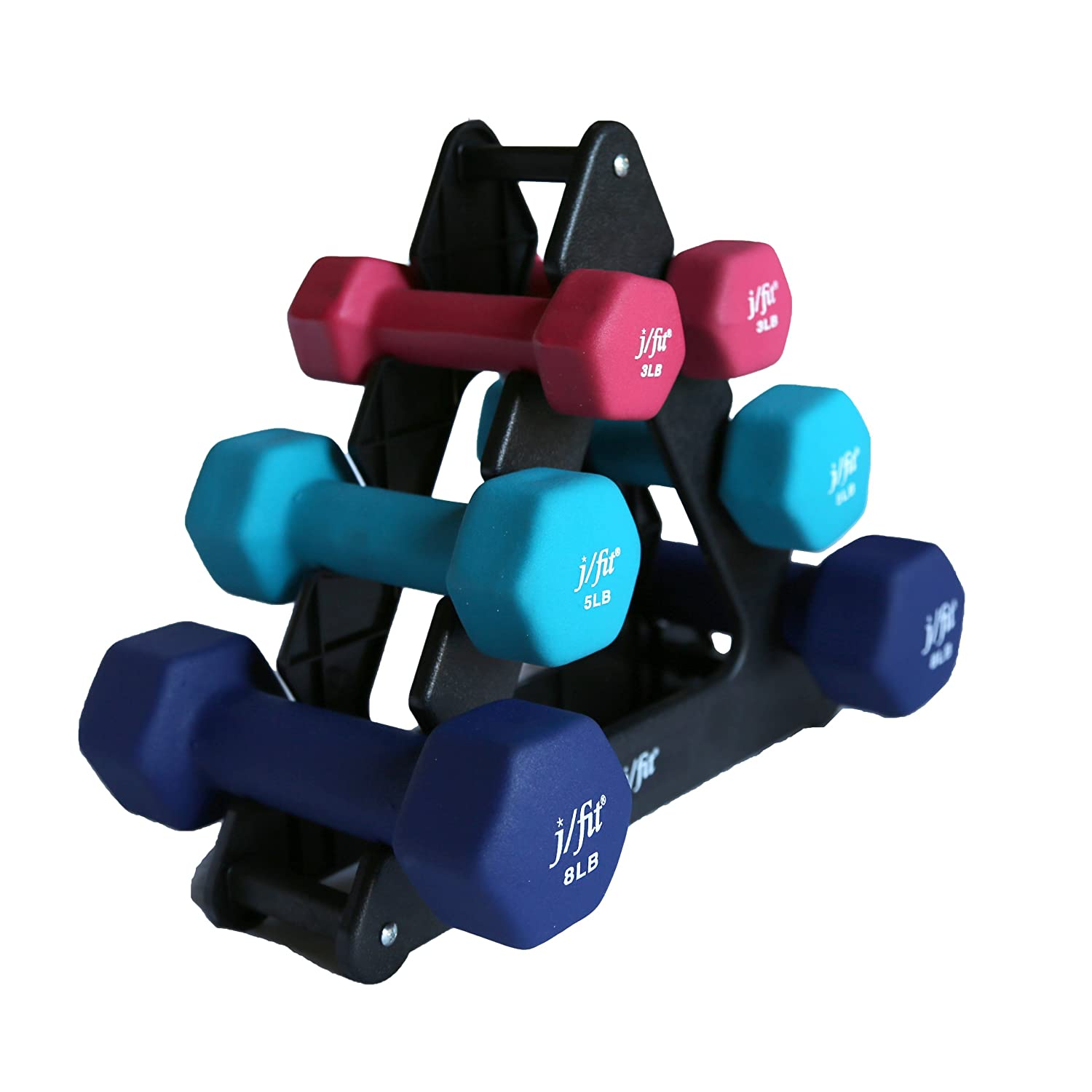j/fit dumbbell set