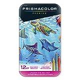 Prismacolor Premier Colored Pencils, Soft Core, Under the Sea Set, 12 Count (Color: Under the Sea)