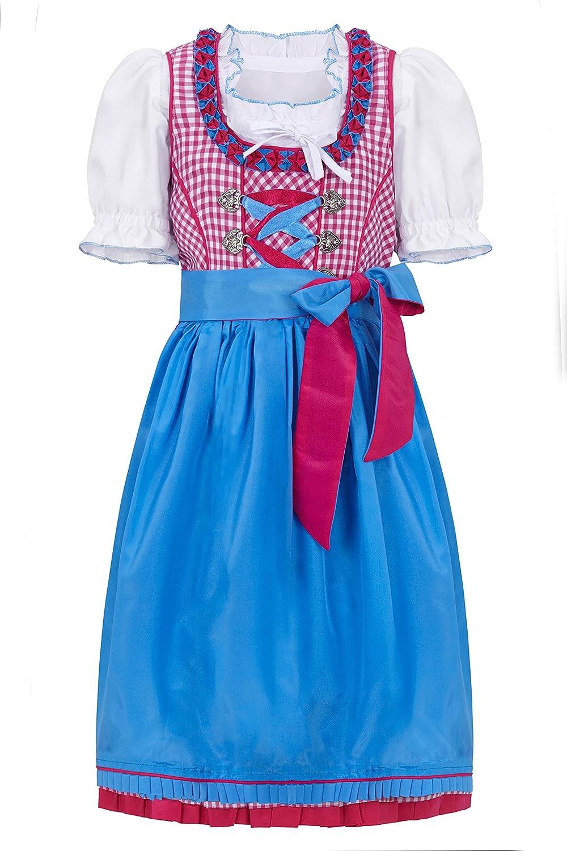 Original Steindl München-Salzburg 3tlg. Kinderdirndl rosa online bestellen