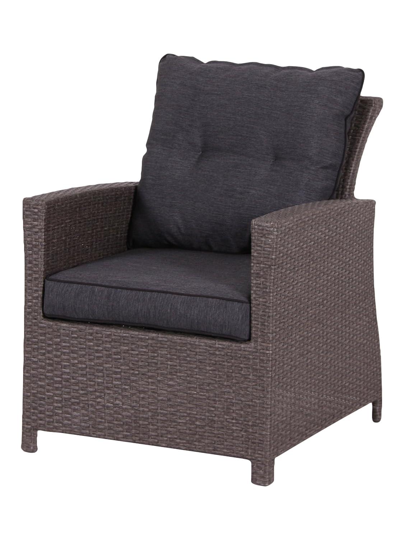 """Luxus Dining Sessel """"Toscana / Havanna"""", passend zur Dining Lounge inkl. Kissen günstig kaufen"""