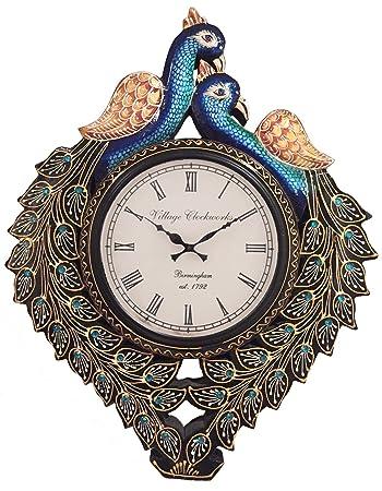 RoyalsCart Peacock Analog Wall Clock By Amazon @ Rs.999